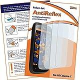 4 x mumbi Displayschutzfolie HTC Desire C Schutzfolie AntiReflex matt