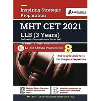 Maharashtra Common Entrance Test [MAH CET] LLB UG (3 Year) Exam 2021 : 8 Full-length Mock Tests [Solved] | Preparation…