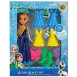 Rvold Frozen Fever Fashion Doll Girl Bea...