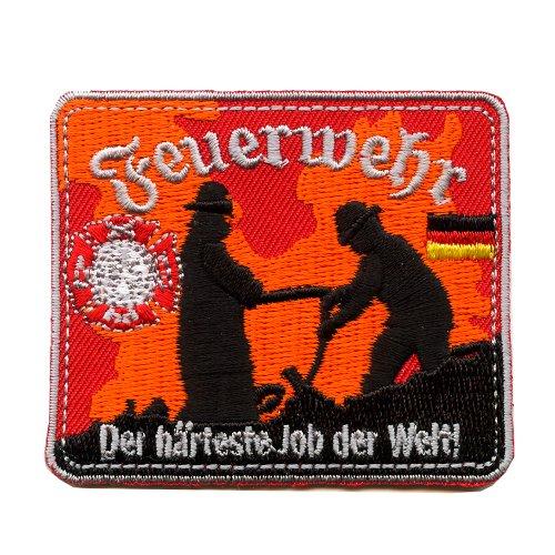 Feuerwehr Retten Bergen Löschen Schützen Helden Patch Aufnäher Aufbügler 0609