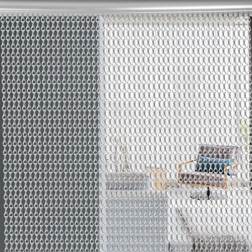Cortina de cadenas de aluminio de primera calidad