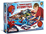 Clementoni - 13276–Tapis Spiderman Géants Interactive
