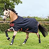 Horseware Amigo Bravo 12 Turnout medium 250g - Dark Navy/Red, Groesse:145
