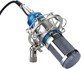Padraig Professional Condenser Microphone Sound Studio Recording Dynamic (Works With Phantom Power Supply Or Sound Card Only)