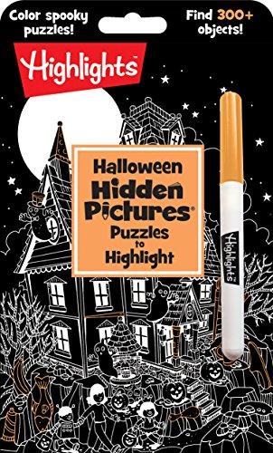 Halloween Hidden Pictures Puzzles to Highlight (Highlights(TM) Hidden -
