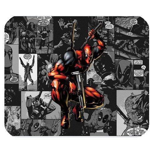 nalisierte Rechteck rutschfeste Gummi Mauspad Gaming Maus Pad/Badvorleger Marvel Superheld Deadpool-lcmpv849 ()