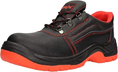 FUZZIO Men's Safety Shoes - Lace-Up Half Shoe - Work Protection Shoes