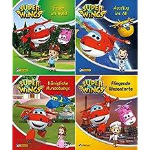 Nelson Mini-Bücher: 4er: Super Wings 1-4