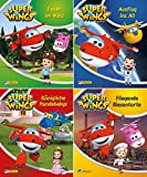 Nelson Mini-Bücher: 4er: Super Wings 1-4