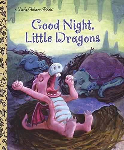 Good Night, Little Dragons (Little Golden Books) por Leigh Ann Tyson