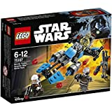 LEGO - 75167 -  Star Wars - Jeu de Construction - Pack de combat la moto speeder du Bounty Hunter