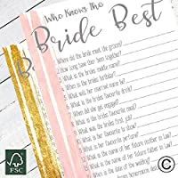 Who Knows The Bride Best Hen Party Games Hen Party Accessories (SWKBB)