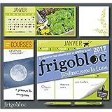 Calendrier d'organisation familiale Jardiner avec la lune - FrigoBloc 2017