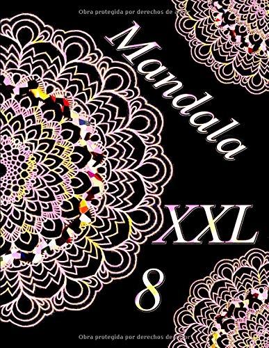 Mandala XXL 8: libro para colorear para adultos