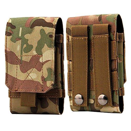 YooGer Hüfttasche, Wasserdichte Militärische Taktische Handytasche Utility Gadget Gürtel Gürteltasche für Sport Outdoor Wandern Camping. (Camouflage)