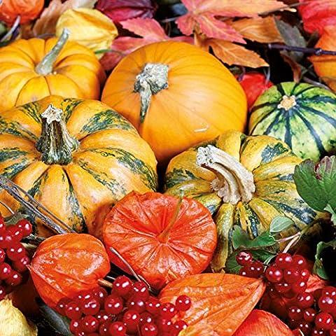 Ambiente Serviettes Lunch/Party/env. 33x 33cm Holl-Automne-Autumn Halloween