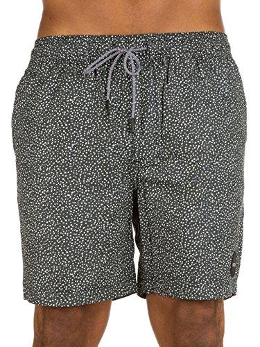 Herren Shorts RVCA Speckled Elastic Shorts (Walkshort Rvca)