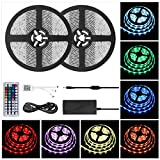 LED Strip Lights, Christmas Decorations 600LEDs 32.8Ft 10M LED Rope Lights RGB Color