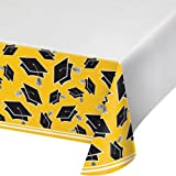 """Creative Converting Party Supplies, 54"""" x 102"""", School Bus Yellow"""