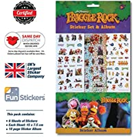 Fraggle Rock Sticker & Album Set