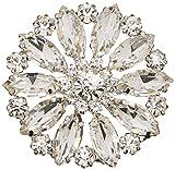 Unik Occasions SBJ92 Rhinestone Crystal Brooch
