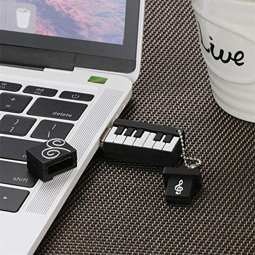 TAOtTAO 4G / 8G / 16G / 32G / 64G / 128G Creative U-Datenträger USB 2.0 Flash-Laufwerk Neuheit Schokoladeneis Form Stift U-Scheibe Mariniertes Ei (B, 64G)