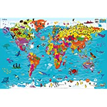 Collins Children World Map (90x60)