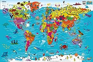 Collins Children's World Map (0008114730) | Amazon price tracker / tracking, Amazon price history charts, Amazon price watches, Amazon price drop alerts