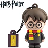 Tribe - Chiavetta USB 16 GB Harry Potter - Memoria Flash Drive 2.0, Personaggio Saga Harry Potter, Pennetta USB Compatibile c
