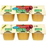 Gefen Natural Apple Sauce Mini Cups 12 x 113g (2 Packs of 6)