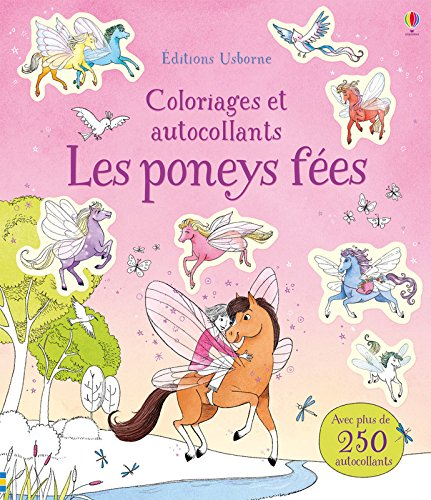 Les poneys fes - Coloriages et autocollants