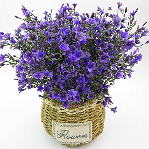 KESOTO Seidenblumen Kunstblumen Künstliche Blumenstrauß für Haus Büro Hochzeit