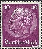 Prophila Collection Deutsches Reich 491 mit seltenem Wasserzeichen Waffeln 1933 Hindenburg (Briefmarken für Sammler)