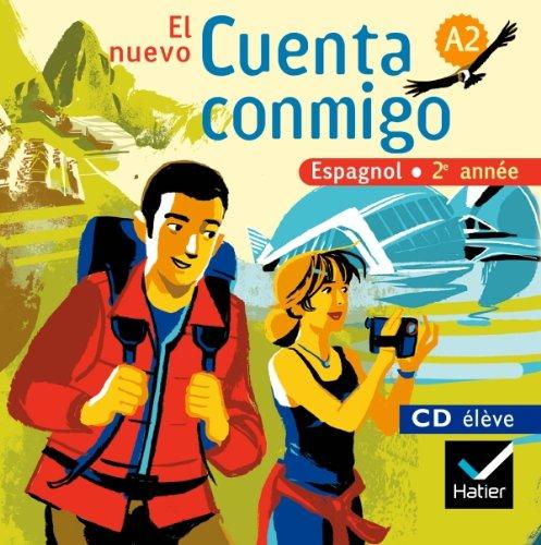 El Nuevo Cuenta Conmigo Espagnol 2e Annee - CD Audio Eleve (de Remplacement), ed. 2008