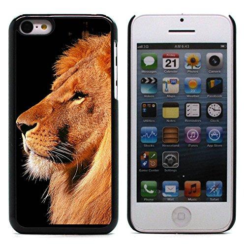 Graphic4You Löwe Tier Design Harte Hülle Case Tasche Schutzhülle für Apple iPhone 5C Design #2
