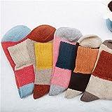 Dicke Wollsocken_warme Wolle Wollsocken winter niedliche Schafe Socken im Winter und eine butt-Farbe, alle Codes