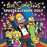 Die Simpsons Wandkalender 2017: 2017 Spasskalender