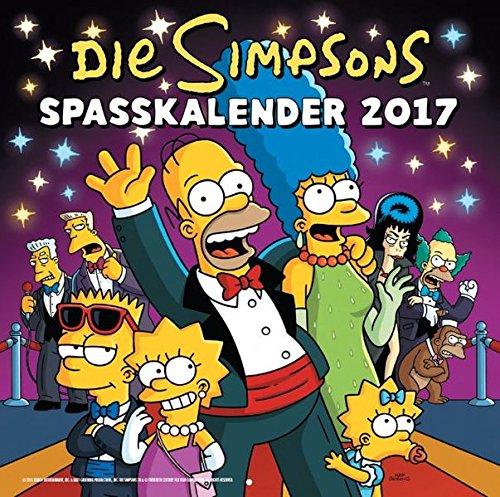 die-simpsons-wandkalender-2017-2017-spasskalender