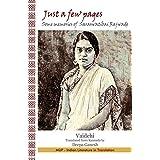 Just a few pages: Some memories of Saraswatibai Rajwade