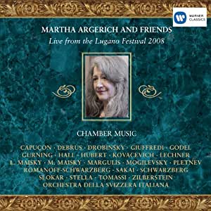 Argerich & Friends Live from Lugano 2008
