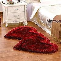 Jai Durga Home Furnishing Heart Shape Bed Runner - ( 22 x 55 )