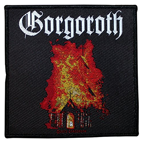 Gorgoroth Logo Church Patch Tessuto 10 x 10 cm