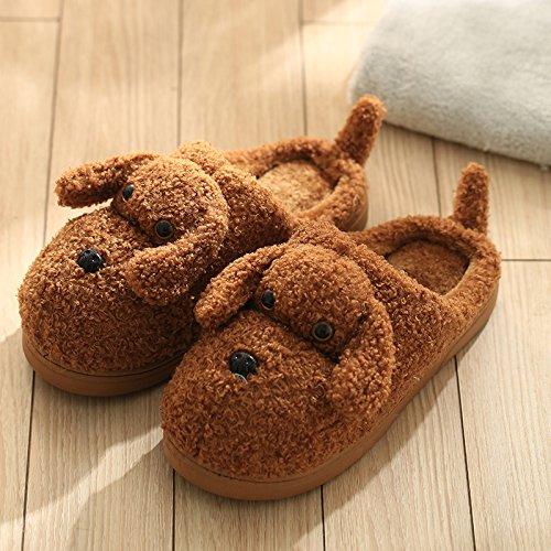 Inverno fankou pony pantofole di cotone Cartoon carino uomini e donne coppie home indoor antiscivolo bambini caldo inverno pantofole in lana Kinder rosa