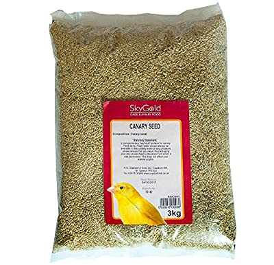 SkyGold Canary Seed 3Kg by SkyGold