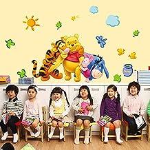 Ufengke Home Winnie The Pooh U0026 Freunde Wand Aufkleber Für Kinder Umfasst  Pooh, Ferkel