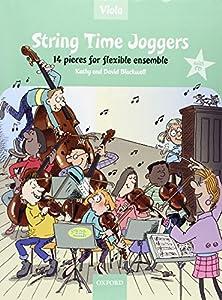 String Time Joggers Viola book + CD 14 pieces for flexible ensemble (String Time Ensembles)