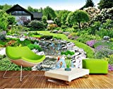 WH-PORP 3D Papel pintado/Custom Photo Wall Paper/Garden Landscape Scenery/Tv/Sofa/Bedding/Ktv/Hotel/Living Room/Children-450cmX300cm