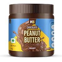 MuscleBlaze Chocolate Peanut Butter, Creamy, 340g