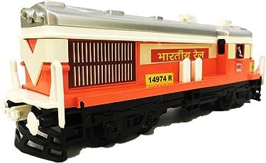 Jack Royal Plastic Locomotive Train (Engine) (CTY-LOCOMOTIVE-TRAIN-CT-121-ORANGE, Orange)