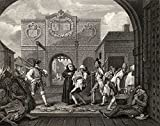 Ken Welsh / Design Pics – Gate Of Calais O The Roast Beef Of Old Engalnd From The Original Picture By Hogarth From The Works Of Hogarth Published London 1833 Photo Print (40,64 x 33,02 cm)